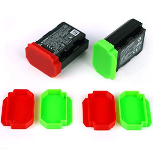 Tapa protectora de batería para Sony Alpha A7III, A7RIII, A7RIV NP-FZ100