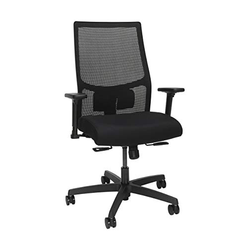 HON Ignition 2.0 Mesh Back Task Chair, in Black/Black