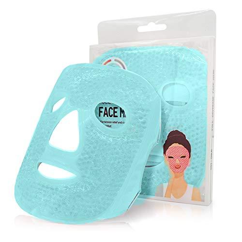 Antifaz para Dormir Máscara de Facial Ojo de Gel de hielo Cuentas Fría Caliente para durmiendo