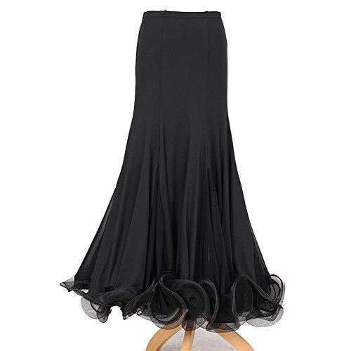 Wanson Wettbewerb Kleider Standardtanz Kleid Milch-Seide Tüll Tanzbekleidung Damen Performance Unter Röcke