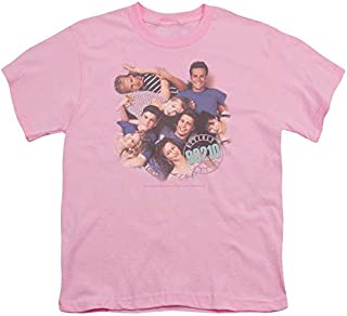 Sons of Gotham Beverly Hills 90210 Gang in Logo Youth T-Shirt XL Pink