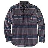 Carhartt Camiseta de forro polar para hombre de Workwear Shadow Stripe S