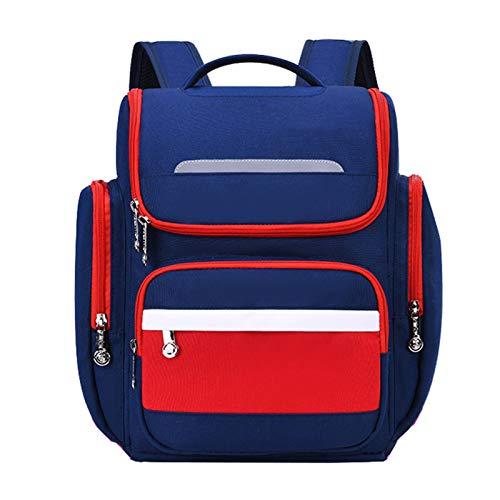 MxZas Impermeabile Leggero Leggero Elementary School School Backpacks Borsa da Scuola Borse Borse Borse Asilo Bambino per Bambini Ragazzi Bookbag primari (Color : Red, Size : L(30X18X40CM))