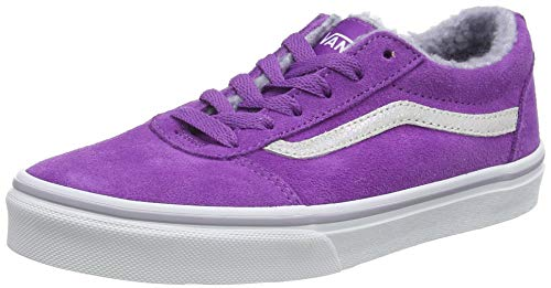 Vans Damen Ward Suede Sneaker, Violett ((Weatherized) Dewberry/True White T06), 37 EU