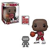 Gogowin Pop Basketball : Bulls - Red Jersey Michael Jordan Vinyl 10inch for NBA Fans Chibi Figure...