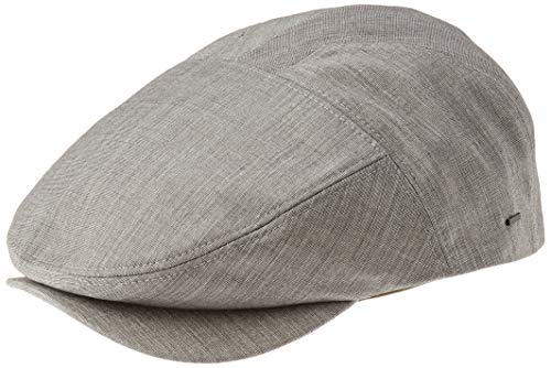 Bailey Slater Casquette Plate, Gris (Basalt Grey), Medium Homme