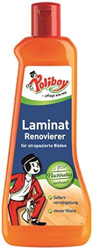 Poliboy - Laminat Renovierer - Sofort Versiegelung - lang anhaltenden Glanz und Schutz - Bodenreinigung - Einzeln - 500ml - Made in Germany
