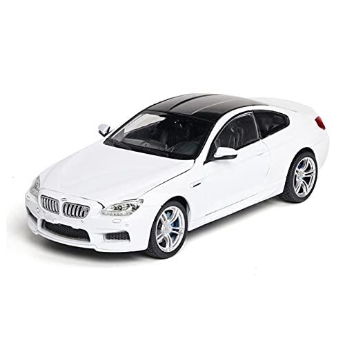 QNMB Coches metalicos Juguete 1:24 para B-M-W para M-6 Modelo De Automóvil Modelo De Aleación Modelo Modelo Modelo Toy Car Kid Toy Cumpleaños Navidad (Color : 2)