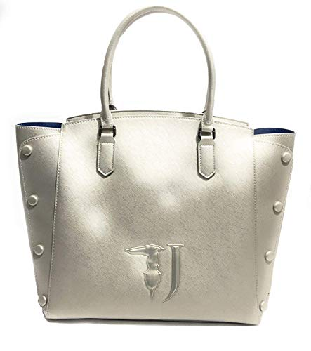 Trussardi Jeans Melissa Shopping Bag Covered Studs, Borsa a spalla...