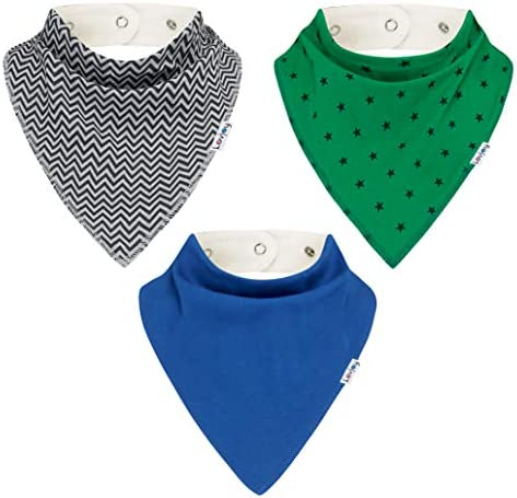 Large Bandana Bibs for Children 4 Years Special Needs Bibs Suitable for Big Kids Teens Youth product image