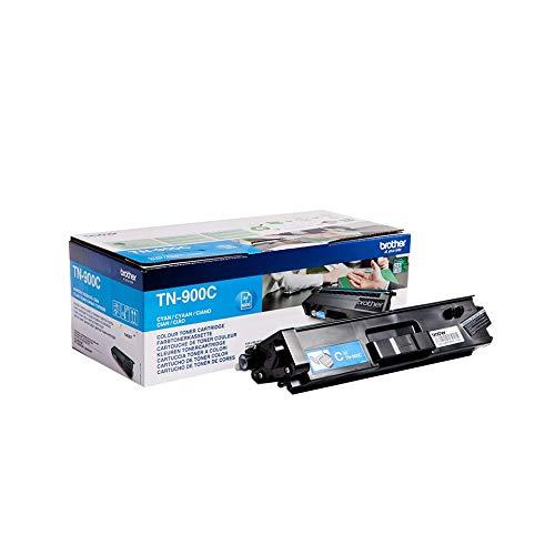 Brother Original Super-Jumbo-Tonerkassette TN-900C cyan (für Brother HL-L9200CDWT, HL-L9300CDWTT, MFC-L9550CDWT)