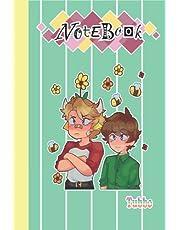 Tubbo Notebook Merch for Women Men Teen: Ranboo, Wilbur Soot, Karl Jacobs, Tommyinnit, Dream SMP, Dream Team... Diary For student, kids, children, school ..,