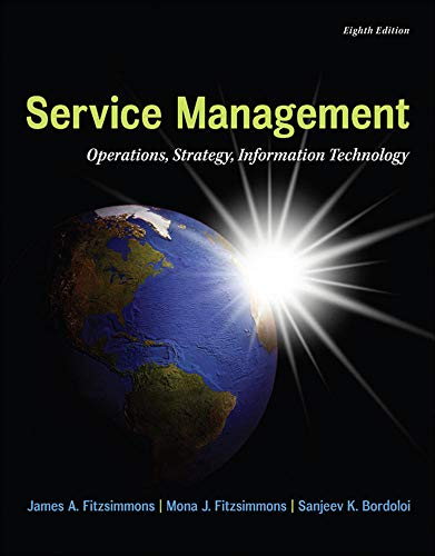 MP Service Management with Service Model Software Access Card (The Mcgraw-hill/Irwin Series in Operations and Decision Sciences)