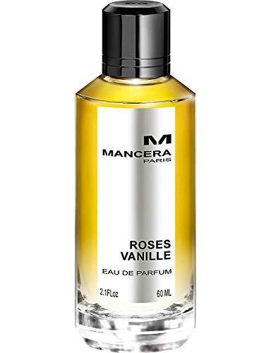 100% Authentic MANCERA Roses Vanille Eau de Perfume 60ml Made in France + 2 Mancera Samples + 30ml Skincare