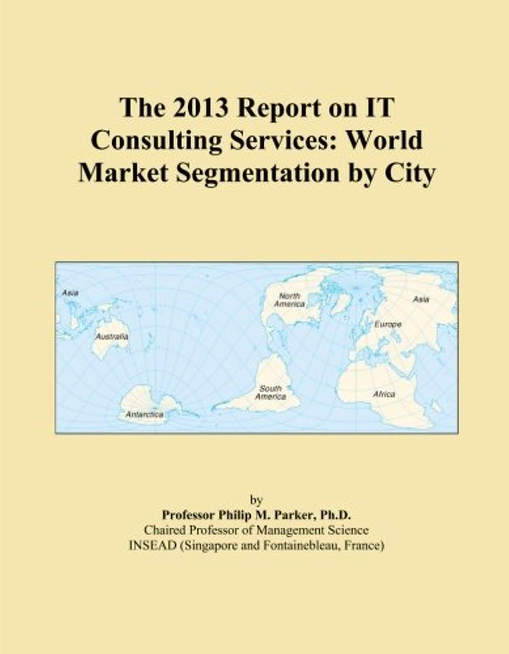 地上の限りなく子孫The 2013 Report on IT Consulting Services: World Market Segmentation by City