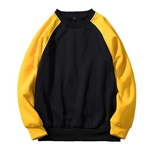 NOBRAND - Sudadera con capucha para otoño e invierno Negro Negro ( XL