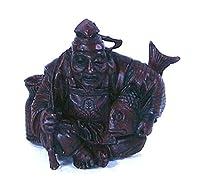 タカラ・海洋堂 福神根付 単品 恵比寿 赤色 ミニ仏像フィギュア 縁起物