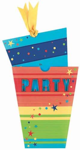 CARTES D'PARTY INVITATIONS