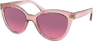 نظارة رالف لورين RA5260 5801Z0 53M شفافة بألوان زهري/بني متدرجة للنساء