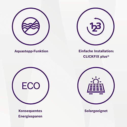 Bosch elektronischer Durchlauferhitzer Tronic 8500, 24/27 kW, Übertisch, druckfest mit AquaStop, 2-in-1 Leistungsumschaltung und Multifunktionsdisplay - 6