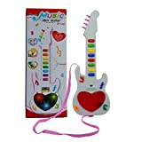 WP Musical Instrument Guitar with Music Songs and Light