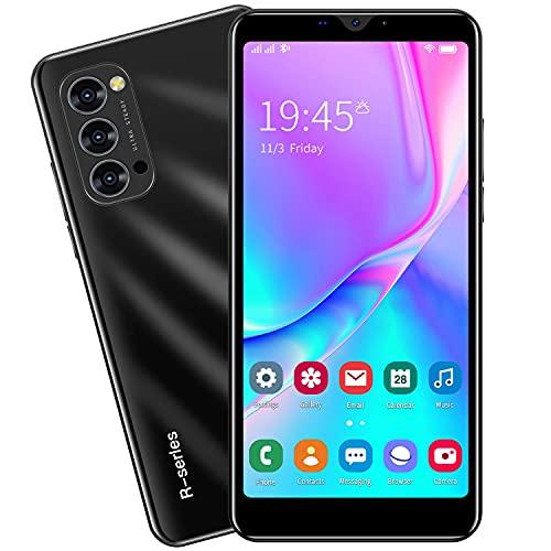 3G Cellulari e Smartphone, 5.5'' IPS Display, Android OS, 4GB ROM 32GB Espandibili, Batteria 2800mAh, Dual SIM Doppia Fotocamera Telefono Cellulare in Offerta GPS WIFI Bluetooth (Rino4-Black)