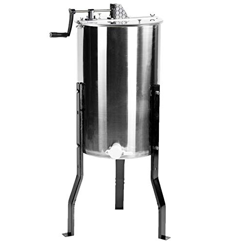 VIVO Large Stainless Steel Honey Extractor