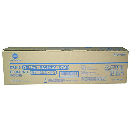 Big Save! Genuine Konica Minolta A7U40TD DR313 Color for C658 C258 C308 C458 C558
