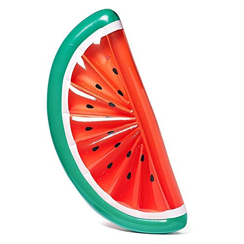 FWOSY Pool Aufblasbare Wassermelone Schwimmende Reihe Wassermelone Luftmatratze Wasser Schwimmende Bett Stuhl Lounge Hängematte Wassersport