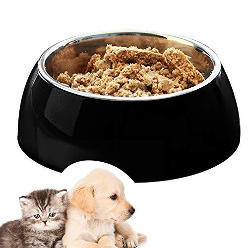 EONAZE Fressnapf Hunde Katzen, Hundenapf Edelstahl, Futternapf für kleine mittelgroße Grosse Hunde Futter und Wasser, stabil, robust, rutschfest Melamin-Napf (700ml)