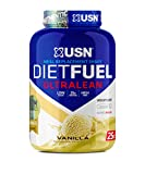 USN Diet Fuel, Meal Replacement Protein Shake, Aid in Weightloss, Vanilla, 1 kg