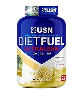USN Diet Fuel Vanilla UltraLean 1KG: Weight Control & Meal Replacement Powder UN107