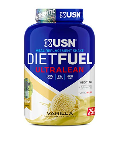 USN Diet Fuel Vanilla UltraLean 1 kg: Weight Control & Meal Replacement Powder