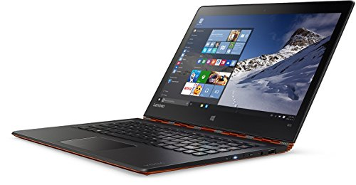 Lenovo YOGA 900 33,8 cm (13,3 Zoll QHD+ IPS) Convertible Ultrabook (Intel Core i5-6200U, 2,8 GHz, 8GB RAM, 256GB SSD, Intel HD Grafik 520, Multi-Touchscreen, Windows 10) orange