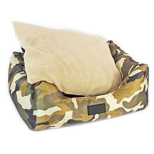 Wmchiwan Hundebett, Oxford-Stoff, doppelseitig, Camouflage