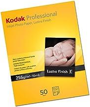 Kodak 8335481 - Papel fotográfico, (50 hojas, 255 gsm, A4)
