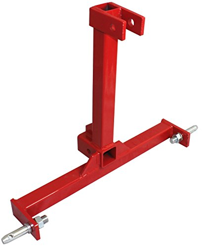 EGO BIKE Cat 1 Drawbar 3 pt Tractor Trailer Hitch Receiver Three Point Attachment CAT1R with One Year Warranty