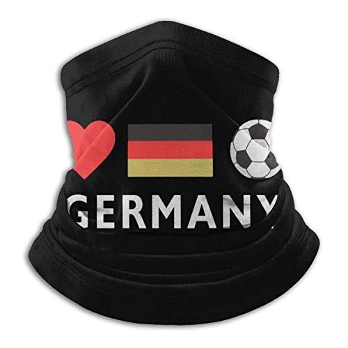 NA Duitsland Voetbal Duitse Voetbal Mannen & Vrouwen Gezicht Masker Nek Warmer Hoofd Wikkel Voor Snowboarden