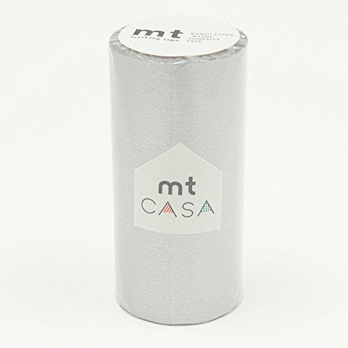 カモ井加工紙 mt CASA 100mm 銀 100mm幅×10m巻き MTCA1059