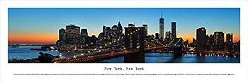 Blakeway Worldwide Panoramas Unframed New York-Brooklyn Bridge-Blakeway Panoramas Skyline Posters