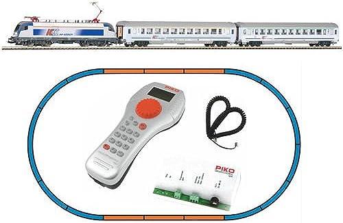 Piko 59002 SmartControl Light Set Personenzug E-Lok Taurus mit 2