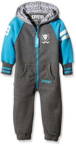 Jumpin Baby Jumpsuit Original, College, Grau-Hellblau, 12 Monate, 10020