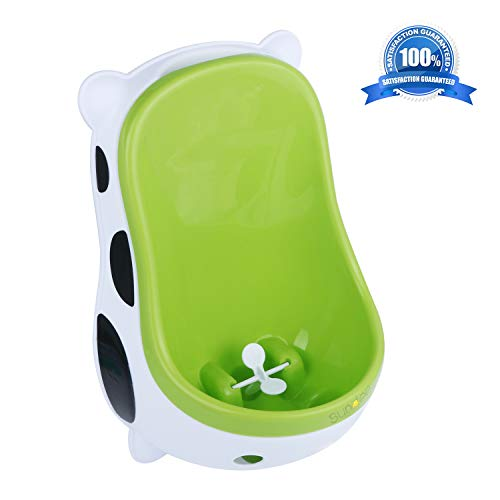 Cute Cow Urinal Potty Training for Boys with Funny Aiming Target/Portable Toilet Training, Potty Urinal Pee Trainer Urine - Green