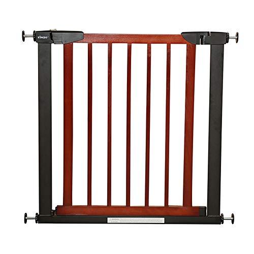 Aida Bz Holztür für Tiere, isoliert innen verstellbar, freistehend, vertikal, gestanzt, Schutzstange, Treppenhöhe: 75 cm