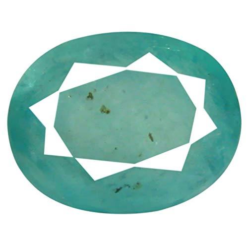 Gemas de Lujo 2,04 CT AAA Forma Ovalada (9 x 7 mm) Azul Verdoso grandierita Natural Suelta Piedra Preciosa