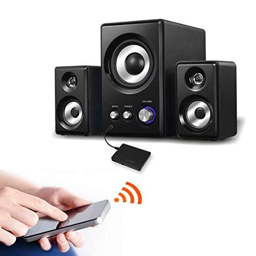 Récepteur Bluetooth pour TV, récepteur audio stéréo sans fil avec prise jack 3,5 mm, adaptateur universel pour système audio stéréo de maison/voiture