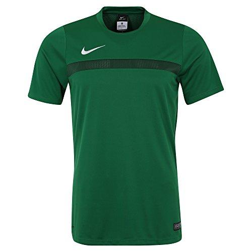NIKE Academy16 SS Top Camiseta, Hombre, Verde/Blanco (Pine Green/Gorge Green/White), S
