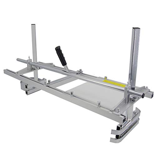 Chainsaw Mill 48 Inch Portable Planking Milling Bar Size 14 to 48 Inch