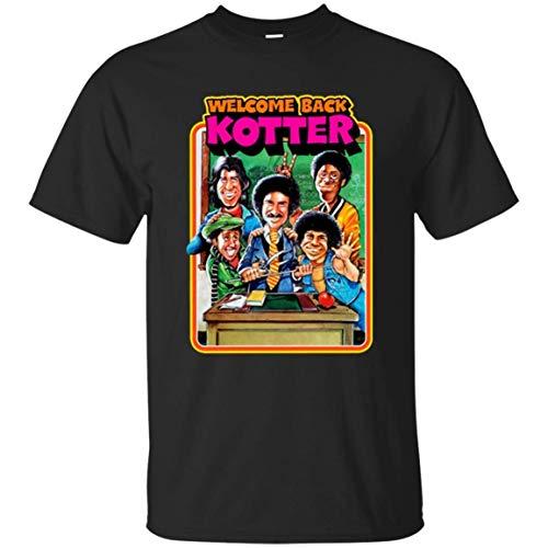 BYYKK Sportbekleidung Herren Kurzarm, Welcome Back Gabe Kotter Funny T-Shirt Gabe Kaplan John Travolta