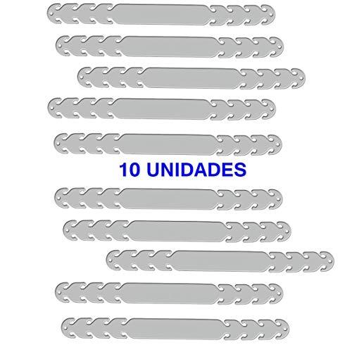 Protector de Orejas para Mascarillas PRIME – Salvaorejas con Ganchos de Ajuste fabricado en Silicona (10 ADULTO TRANSPARENTE)